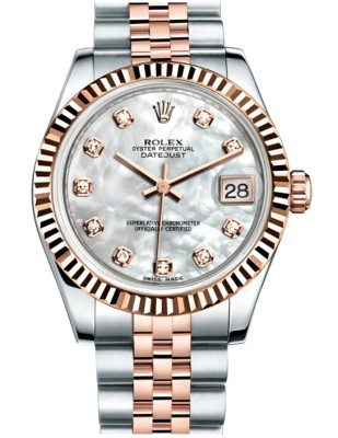 Rolex with Mother of Pearl Dial
