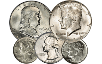 Sell your Silver Coins South Florida